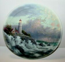 Thomas Kinkade - Conquering The Storms Collectors Plate