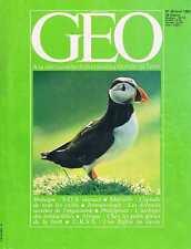 ggeo   N°38   avr 1982 - Pygmées Marseille immunologie Oiseaux de mer Phillipine