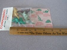 VTg 1964/1965 NY WORLDS FAIR SINCLAIR SERVICE STATION giveaway Promo Toys