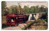 1910 Indiana Limited Train, Indianapolis, IN Postcard