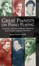 Great Pianists on Piano Playing by Cooke (Paperback, 1999)