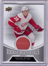 ANTHONY MANTHA 16/17 Upper Deck UD Rookie Materials Green Jersey #RM-MA RC Card