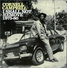 Cornell Campbell - I Shall Not Remove 1975 - 80 - CD - PROMO Very Good Condition