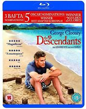The Descendants (Blu-ray, 2012) George Clooney New & Sealed FREE SHIPPING