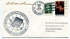 1978 US Antarctic Research Program National Science Found. Polar Cover SIGNED