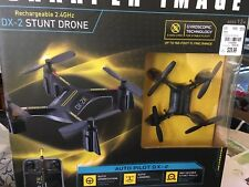 Sharper Image Rechargeable DX 2 Stunt Drone 2.4 New
