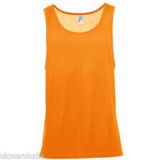 SOL'S Unisex Jamaica Tank Vest Sleeveless T-Shirt - XS-XXL - 01223
