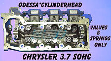 DODGE JEEP DAKOTA 3.7 SOHC CYLINDER HEAD VAL&SPR ONLY RIGHT SIDE NO CORE