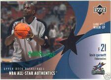 2002-03 UPPER DECK NBA ALL-STAR WARM-UP: KEVIN GARNETT