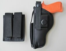 Hip Belt Holster & Mag Pouch Combo for RUGER P85,P89,P90,P94,P944