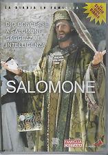 Dvd **SALOMONE** Le Storie della Bibbia storico / religioso Nuovo