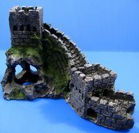 """Great Wall Aquarium Ornament 9""""L - fish tank Decor cave"""