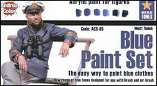 Andrea Miniatures AND-ACS05 Andrea Color Blue Paint Set
