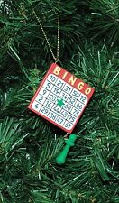 Bingo Christmas Ornament