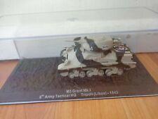 ATLAS DEAGOSTINI 1/72 M3 GRANT MK.I LIBYA 1943 WW2 DIECAST TANK