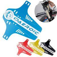 de montaña Ciclismo Fender Guardabarros MTB Plegable Delantero / trasero