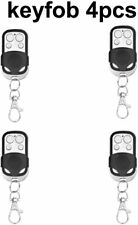 4Pack Wireless Remote Control Working w/ Home Alarm Security System Black 433mHz