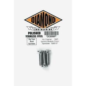 Diamond Engineering S and S Air Cleaner Bolt Kit DE5090P