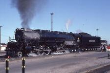 "Union Pacific - 3985 - 4-6-6-4 - ""Challenger"" - Orig 35mm Kodachrome Slide"