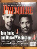Premiere (US Edition) Jan 94 Tom Hanks & Denzel Washington, Schindler's List