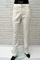 Pantalone CARRERA Uomo Taglia Size 56 Pants Man Gamba Dritta Bianco Classic Fit