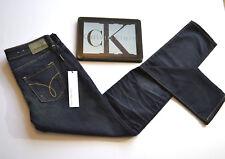 CALVIN KLEIN NEW Low Rise Skinny Navy Blue Aged Jeans Womens Sz. W26 L32  BNWT