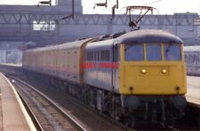 PHOTO  CLASS 85 ELECTRIC 85011 AT STAFFORD ON 28/04/87.