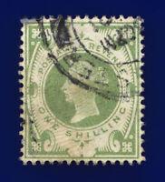 1887 SG211 1s Dull Green K40(1) Good Used Cat £80 cnzi