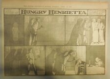 Hungry Henrietta by Winsor McCay from 4/23/1905 ! Half Page Size! 11 x 15 inches