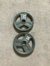 "25 Lb Olympic 2"" Weight Plates Set of 2 50lbs Total- Brand New Excellent Quality"