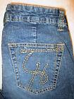 Tommy Hilfiger Stretch Boot Cut Womens Blue Denim Jeans Size 8 x 31