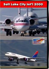 Salt Lake City International Airport 2000 DVD NEW SLC Highball Planes DC3 KC135