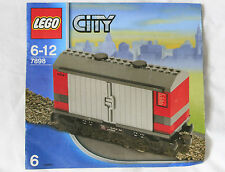 Lego City treno, vagone chiuso merci  7898 (no 7936 7938 60052)