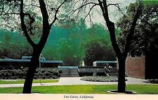 Civic Center in Los Gatos CA Postcard (blank back)