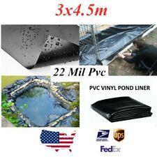 10x15Ft Fish Pond Membrane 22 mil Garden Landscaping Supplies Liner Equipment