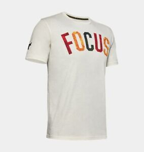 Men's Under Armour Project Rock Mahalo FOCUS T-Shirt Size XL  #1351584-110