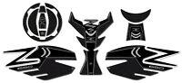 KIT ADESIVI IN RESINA GEL 3D PROTEZIONI compatibili per moto Z 650 KAWASAKI Z650