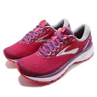 Brooks Ghost 11 Aster Diva Pink Silver Women Running Shoes Sneakers 120277 1B