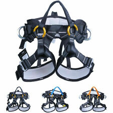 Safety harness Mountain Tree Climbing Rescue Hike Rappelling Equipment Polyester