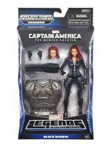 Marvel Captain America Legends Black Widow Figure 6 Inches