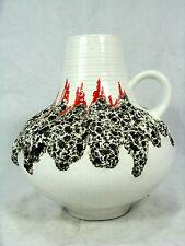 """Beautiful  70´s design FOHR Keramik """" Fat Lava """" pottery vase 16 cm  411 - 16"""