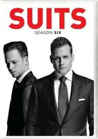 Suits: Season Six [New DVD] Boxed Set, Slipsleeve Packaging, Snap Case