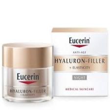 Eucerin Anti-Age Hyaluron-Filler + Elasticity DAY & NIGHT Creams 50ml each. NEW!