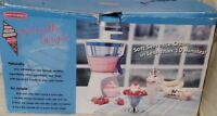 Back to Basics Naturally Simple Soft Serve Ice Cream Maker 2002 Model ICM32