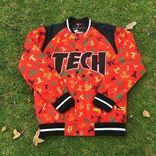 Brand New Technine Icon Split-T Snowboard Jacket Red T Print Size L