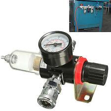 "W Regulator Gauge Trap Tools Filter Water Separator 1/4"" Air Compressor AFR-2000"