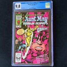 Marvel Team-Up #137 💥 CGC 9.8 💥 Galactus vs Aunt May & Franklin Richards! 1984