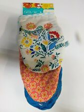 The Pioneer Woman Mazie Mini Oven Mitts 2-Pc