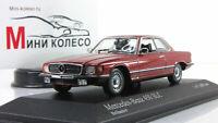 Scale car 1:43, Mercedes-Benz 450SLC (R107) 1974 Red Metallic