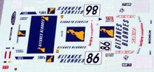 decal 1/43 PORSCHE 911 TURBO S LM 1000Km SUZUKA 1994 RENAISSANCE DU044C